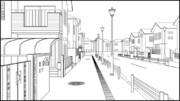 日本最後の島 住宅街