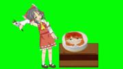 泣きながら普通のケーキを食べるSNNN姉貴GIF