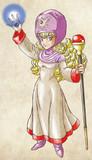 ドラクエ2ムーンブルグの王女模写