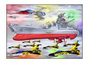 宇宙戦艦ヤマト艦載機七色星団黒虎