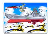 宇宙戦艦ヤマト艦載機大気圏黒虎