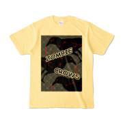 Tシャツ | ライトイエロー | ゾンビカラスちゃん