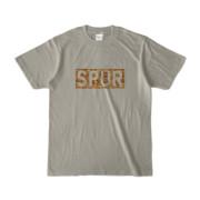 Tシャツ シルバーグレー SPUR_Coffee