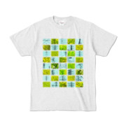 Tシャツ アッシュ Steel20_and_Grass20