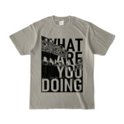 Tシャツ | シルバーグレー | 何してるColosseo