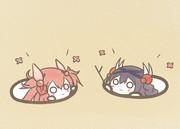 アトラちゃんとランカちゃん