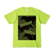 Tシャツ | ライトグリーン | ゾンビカラスちゃん