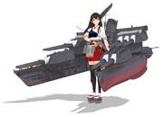 航空戦艦赤城