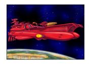 ガミラス戦闘空母重爆撃機ガミラス星