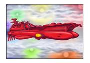 ガミラス戦闘空母甲板展開
