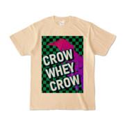 Tシャツ | ナチュラル | CROW_WHEY_CROW