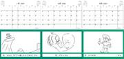 お題でお絵かきカレンダー2021 7,8,9月