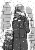 降雪勤務ですかもんばんちょー!!!!
