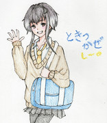 時津風さんとお絵描き練習2