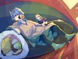 恵方ロールと鬼ガール