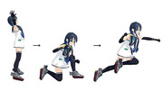 【MMD艦これ】涼風のバーンナックル