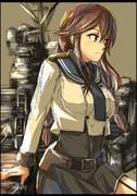 能代姉さんの改二の制服、かっこよ