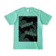 Tシャツ | アイスグリーン | ゾンビカラスちゃん
