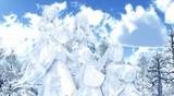 【MMD雪まつり2021】森の中会場【レア様達】