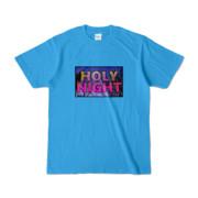 Tシャツ | ターコイズ | HOLY_NIGHT_TONIGHT