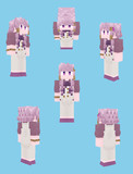 【Minecraft】結月ゆかり:バーテンダー衣装【Alex】