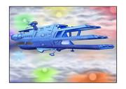 ガミラス三段空母シュデルグ七色星団