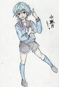 水無月さんとお絵描き練習5