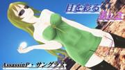 サングラスレディ。友人応援広告玲霞さん!【Fate/MMD】