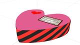 バレンタインのチョコの箱アプデしました「MMDアクセサリ配布あり」