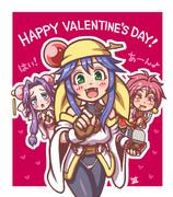 小樽にチョコを食べさせ隊!