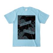 Tシャツ | ライトブルー | ゾンビカラスちゃん