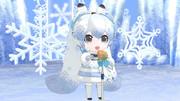 【MMD雪まつり2021】雪ミクさんが歌ってくれます