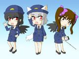 妖怪の山の警察