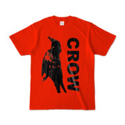 Tシャツ | レッド | CROW_FirstONE