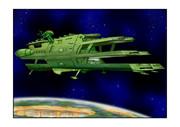 ガミラス三段空母バルグレイガミラス星