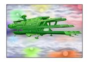 ガミラス三段空母バルグレイ七色星団