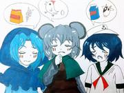 卵(クッキー☆)、牛乳(クッキー☆)、小麦粉(クッキー☆)