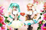【MMDバレンタイン】スイーツなお姉さん達から プレゼントだよ♪