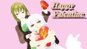 親子で、脈絡のないバレンタイン【Fate/MMD】