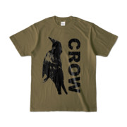 Tシャツ | オリーブ | CROW_FirstONE