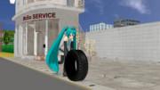 【MMDアクセサリ】タイヤ配布します。