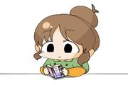 【お題箱】友人に勧められたギャグ漫画をピクリともせずに真顔で読み進める高森さん