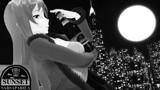 0215!モノクロ広告!サンセット・サルサパリラ玲霞さん5【MMDモノクロポートレート】