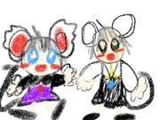 ダブルネズミ
