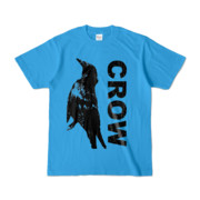 Tシャツ   ターコイズ   CROW_FirstONE