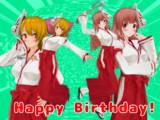 栞奈さんHappy Birthday!