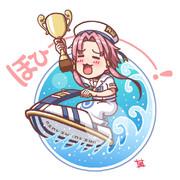 『アリシアさ~ん!ウェーブレース優勝しちゃいました~!』
