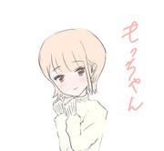 白ニット☆