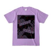 Tシャツ | ライトパープル | ゾンビカラスちゃん