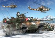 雪中の第7師団